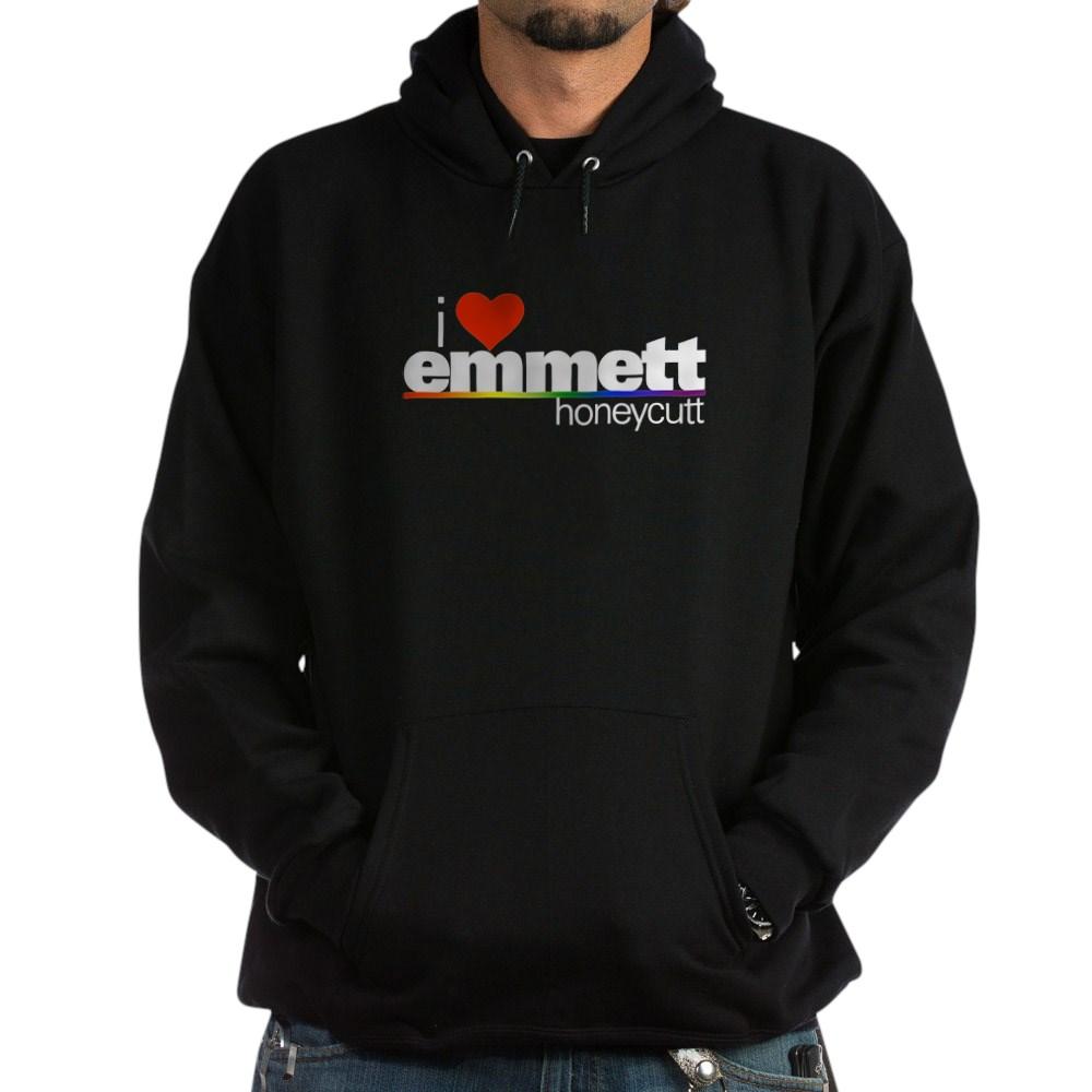 I Heart Emmett Honeycutt Dark Hoodie