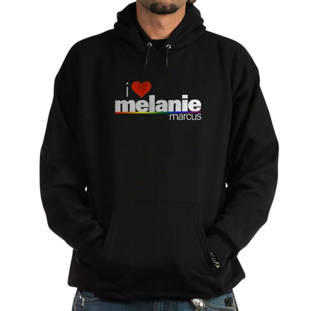 I Heart Melanie Marcus Dark Hoodie