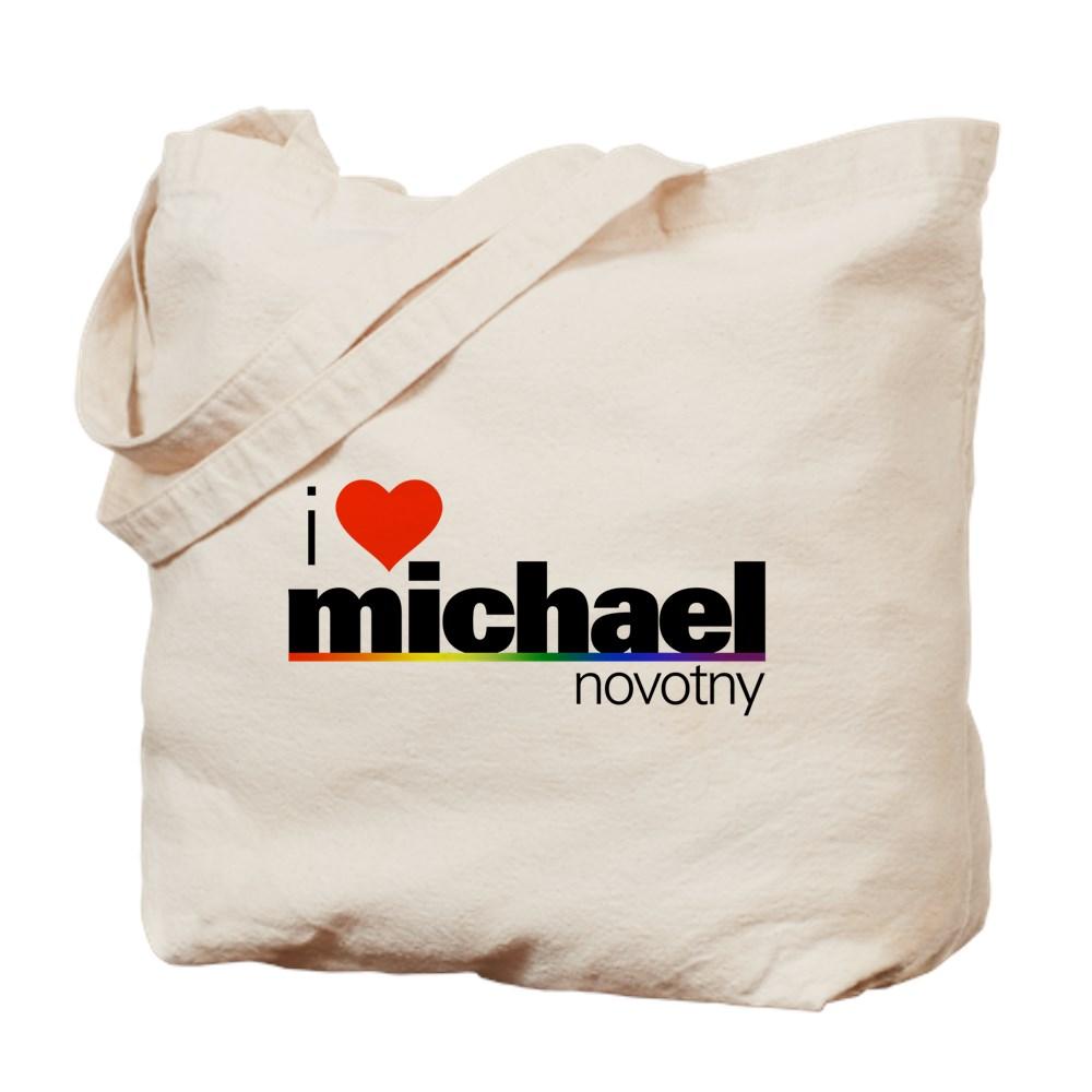 I Heart Michael Novotny Tote Bag