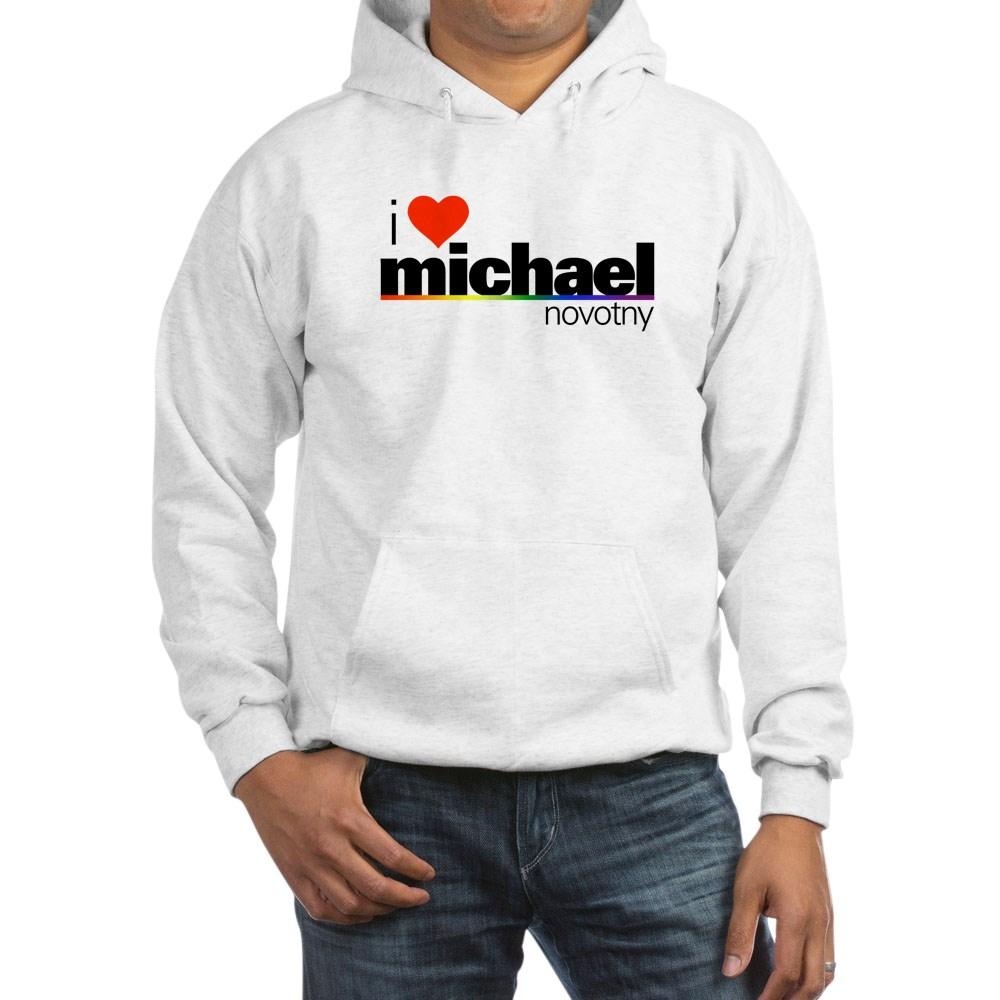I Heart Michael Novotny Hooded Sweatshirt