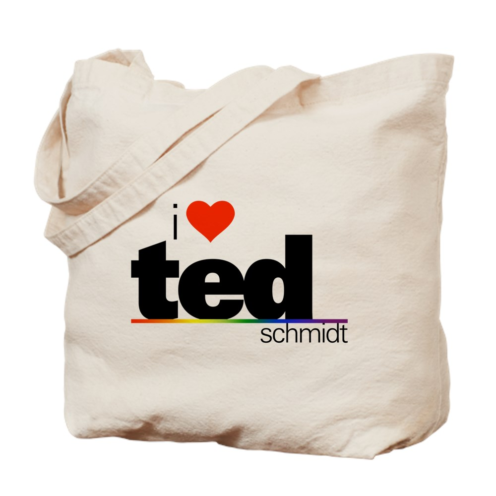 I Heart Ted Schmidt Tote Bag
