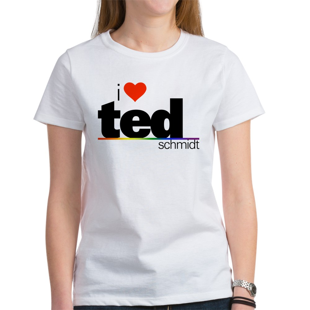 I Heart Ted Schmidt Women's T-Shirt