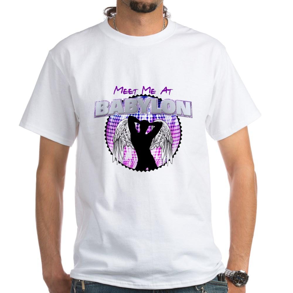 Meet Me At Babylon White T-Shirt