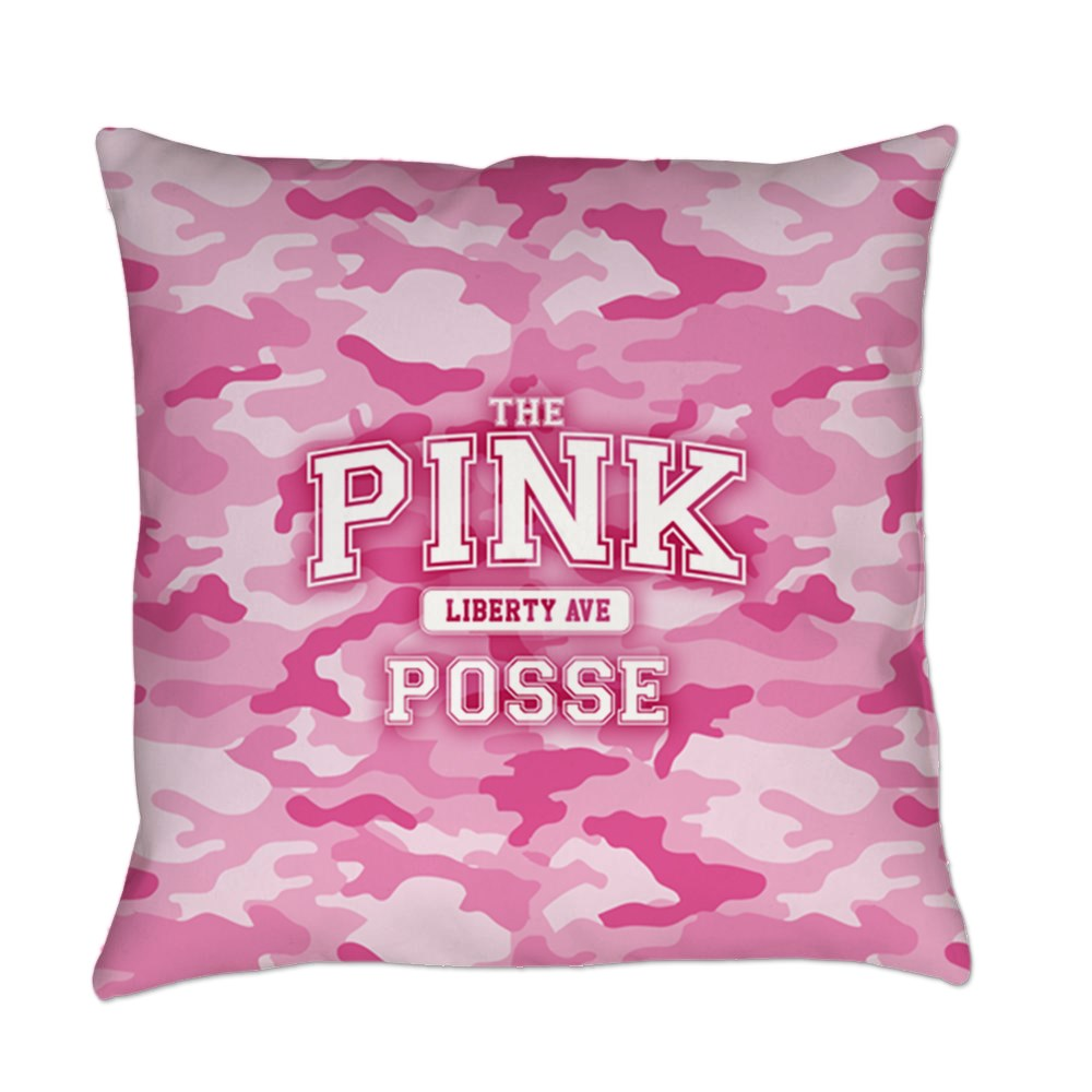 The Pink Posse Everyday Pillow