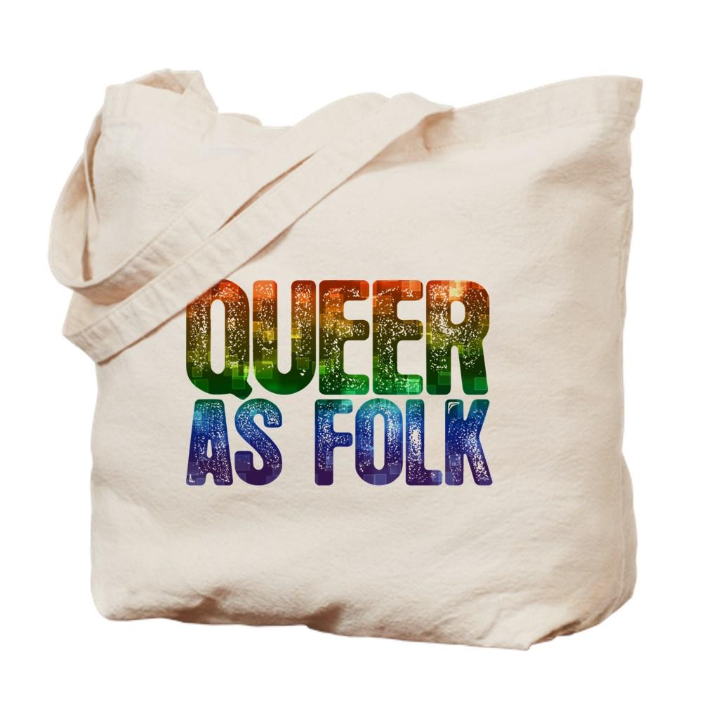 Rainbow Queer as Folk Tote Bag