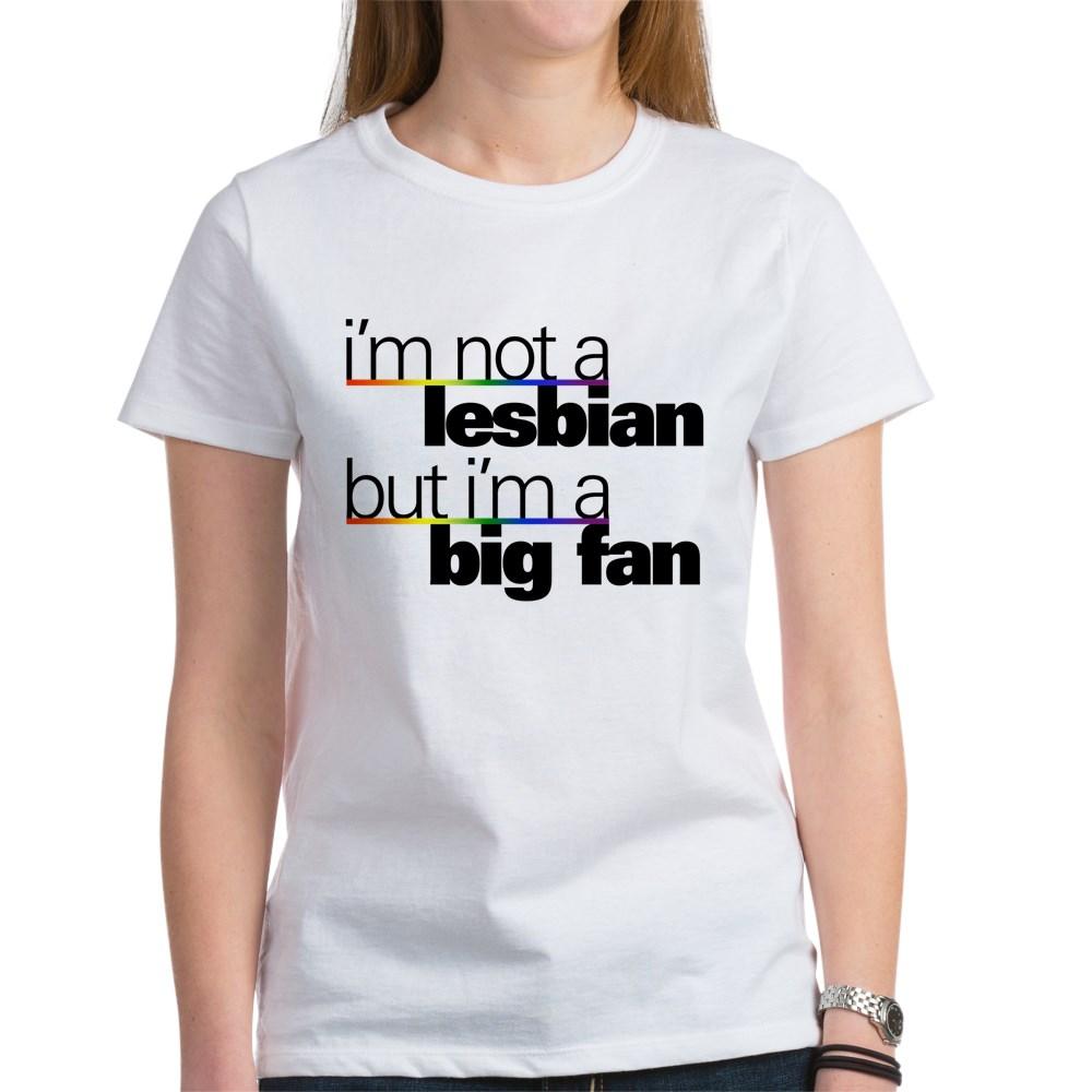 Not a Lesbian Women's T-Shirt