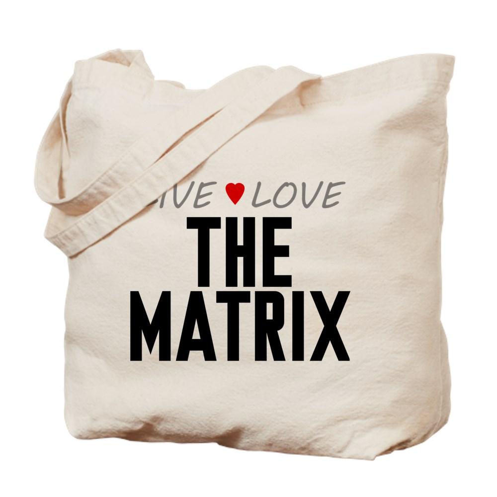 Live Love The Matrix Tote Bag