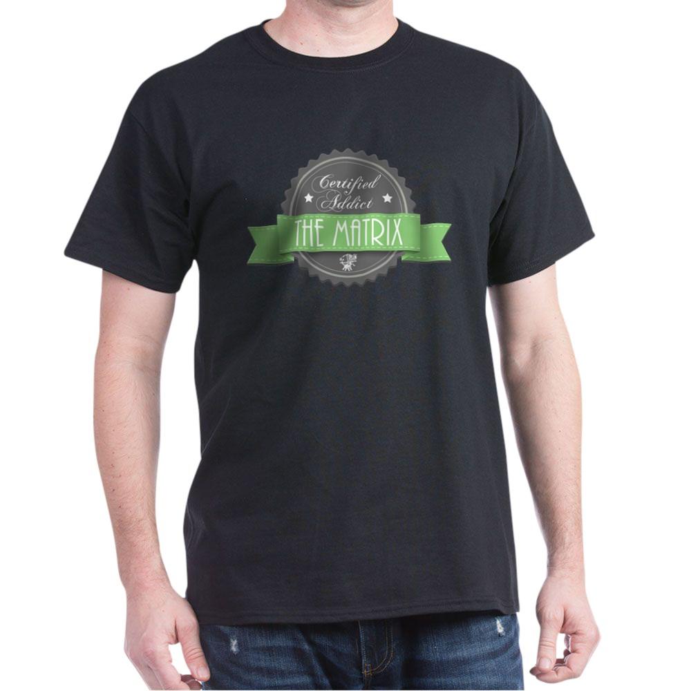 Certified The Matrix Addict Dark T-Shirt