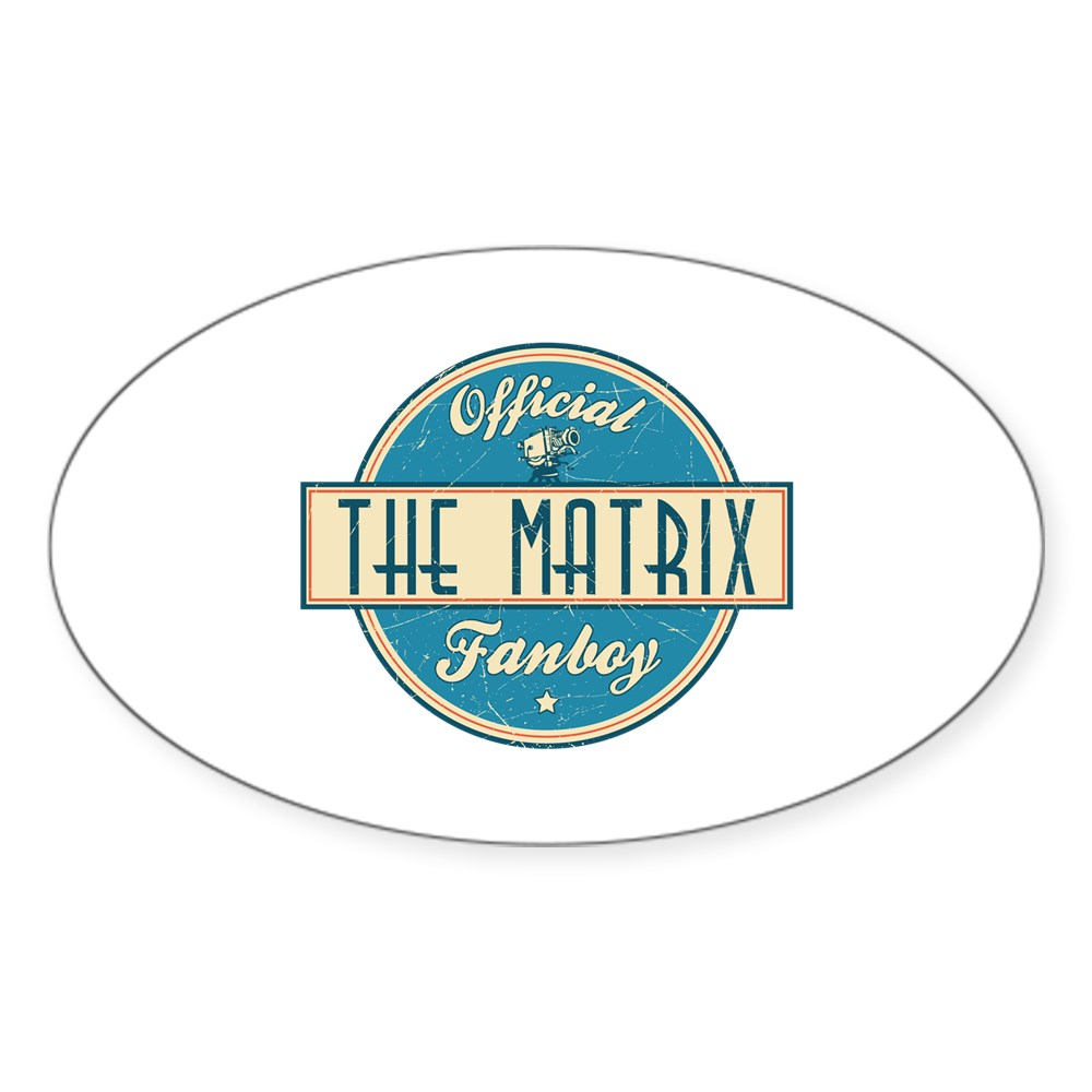 Offical The Matrix Fanboy Oval Sticker