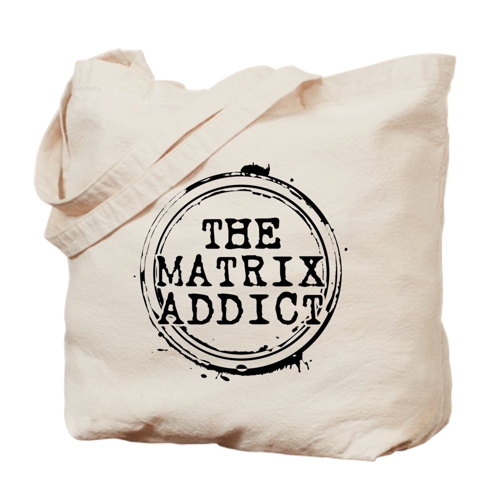 The Matrix Addict Stamp Tote Bag