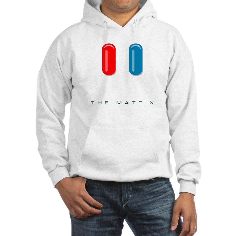 Red Pill, Blue Pill Hooded Sweatshirt