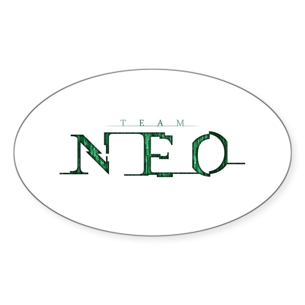 Team Neo Oval Sticker