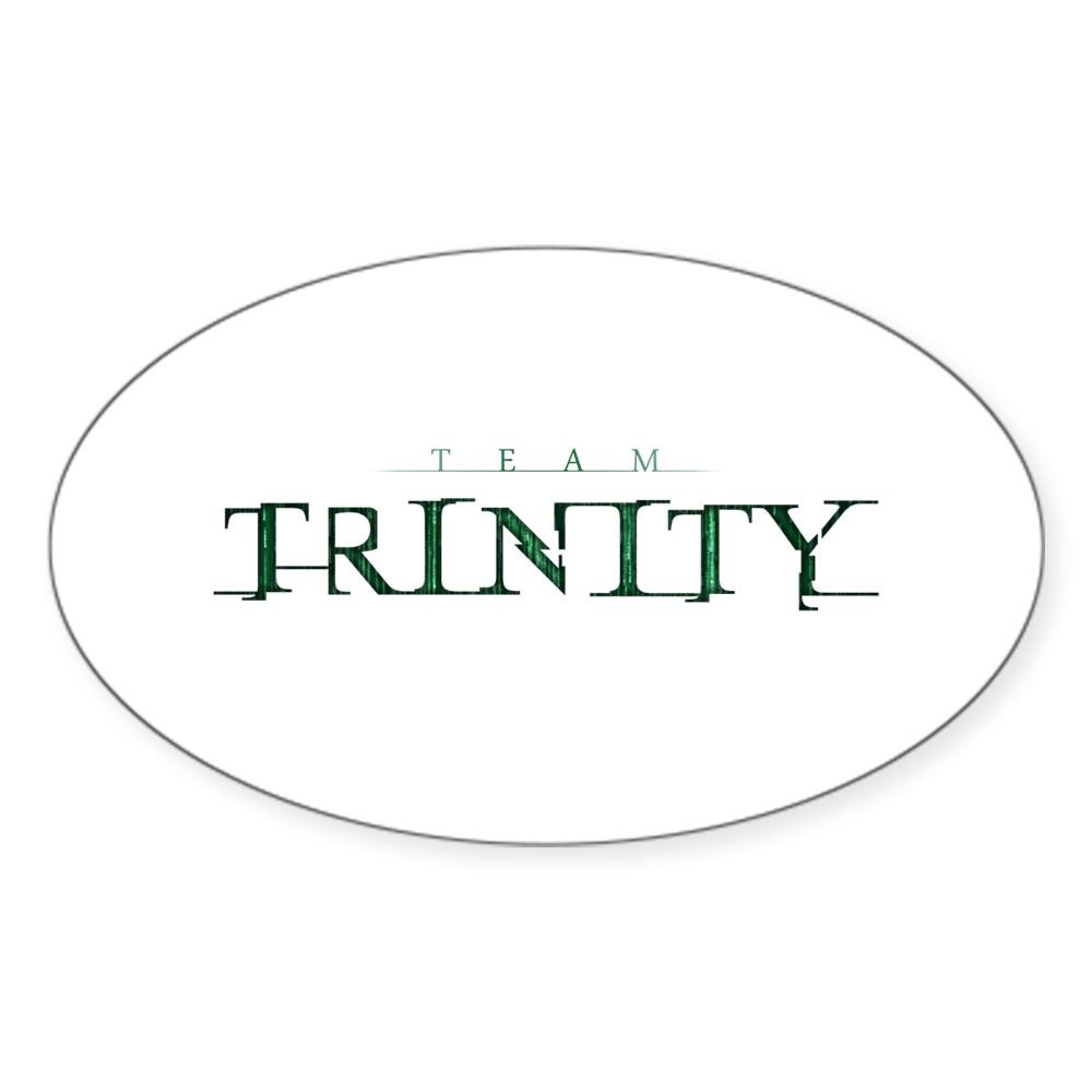 Team Trinity Oval Sticker