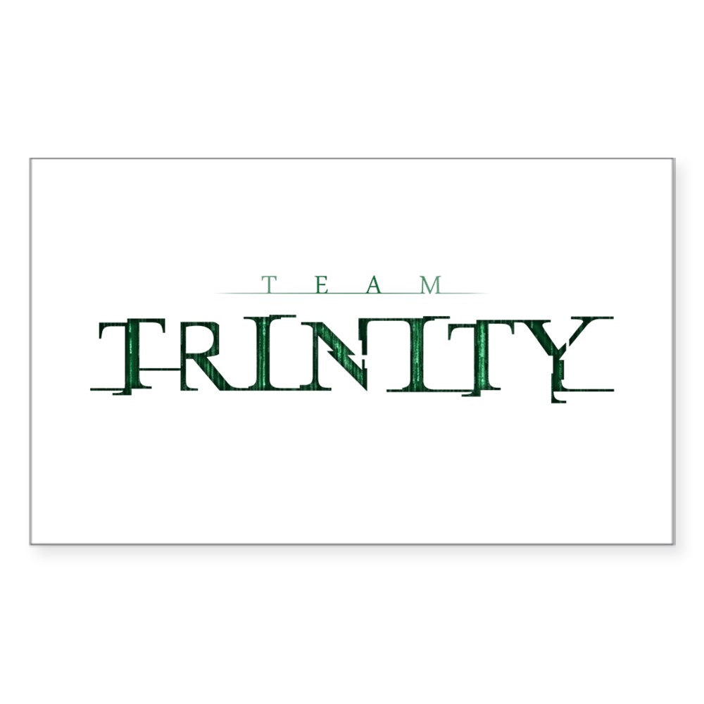 Team Trinity Rectangle Sticker