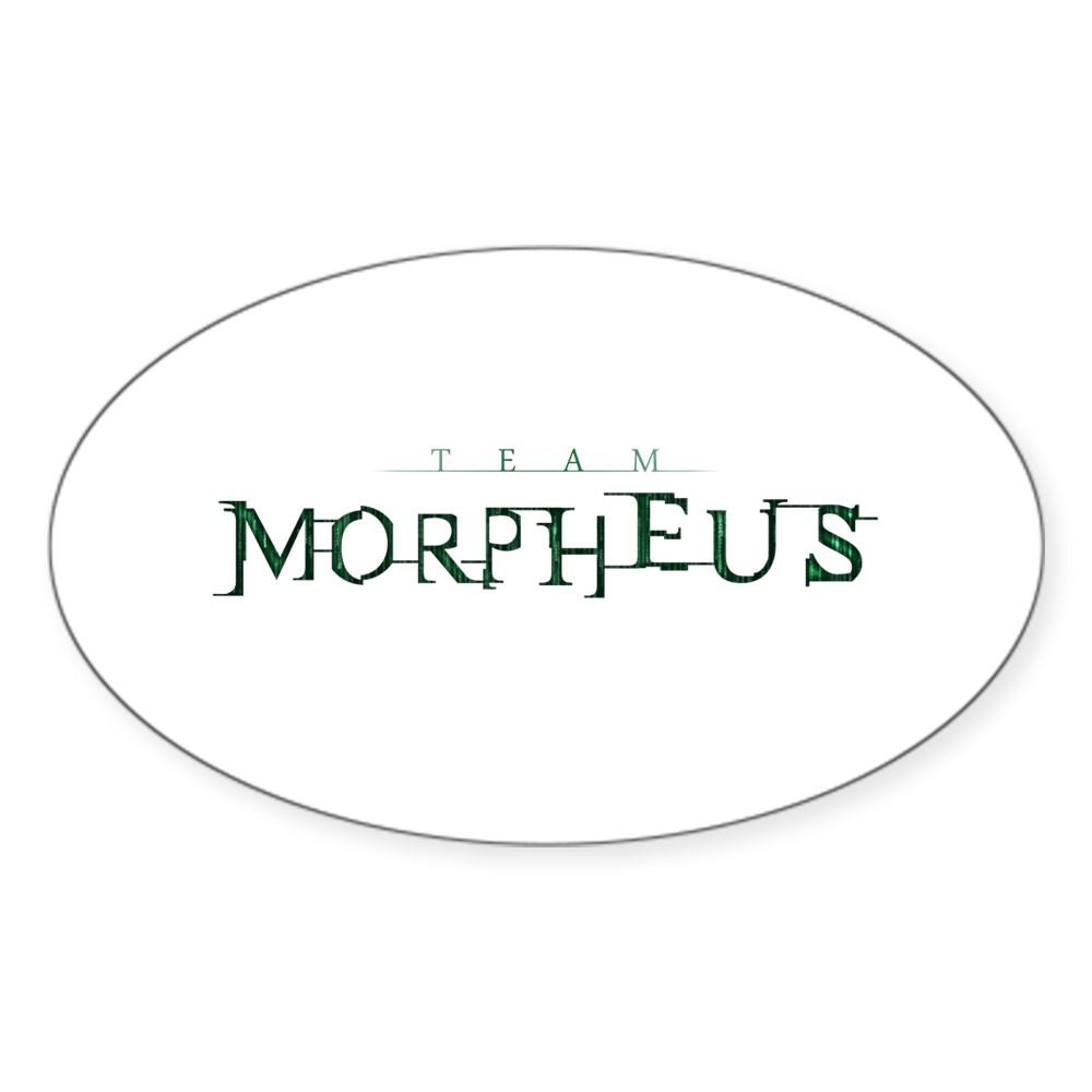 Team Morpheus Oval Sticker