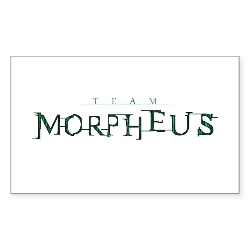 Team Morpheus Rectangle Sticker