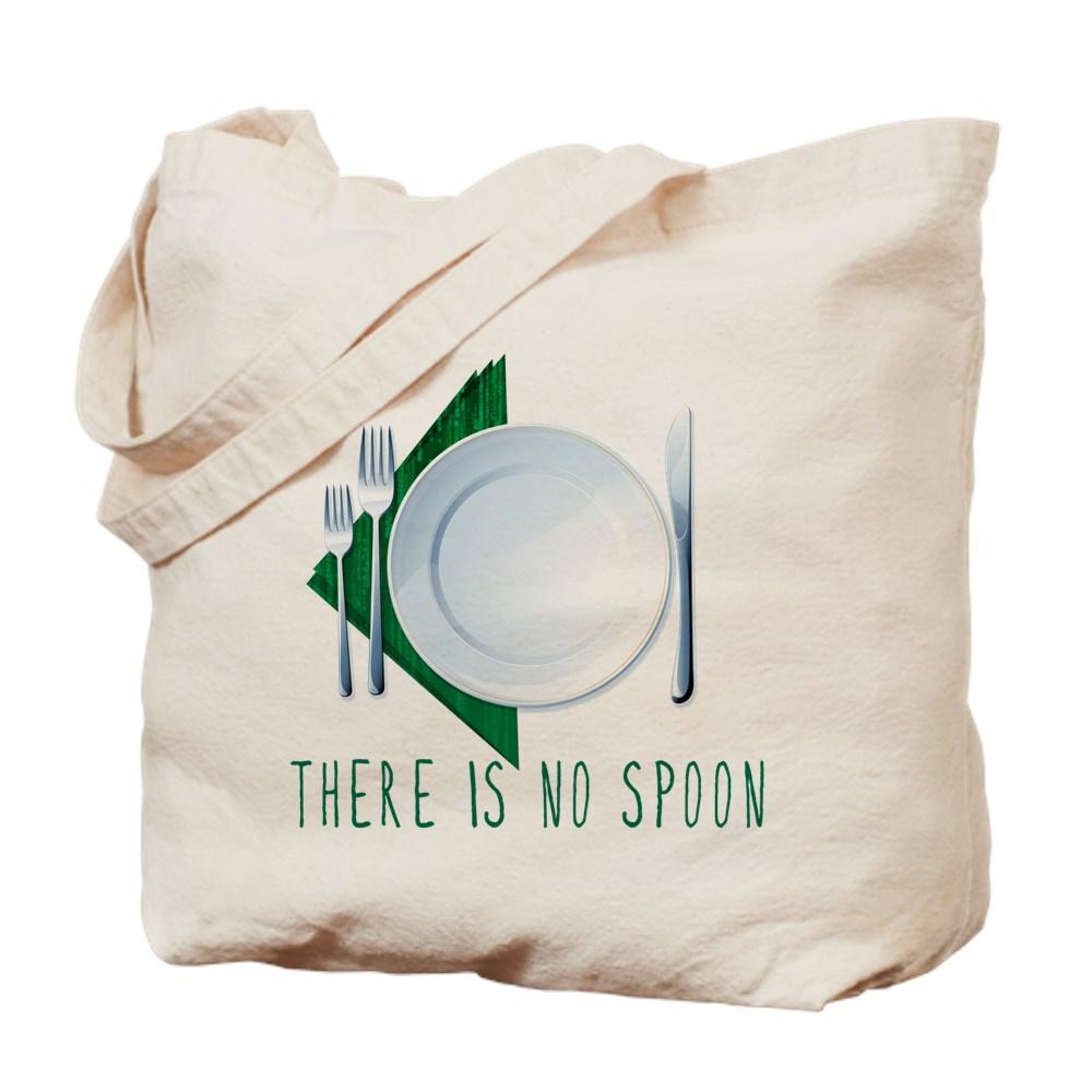 No Spoon Spoof Tote Bag