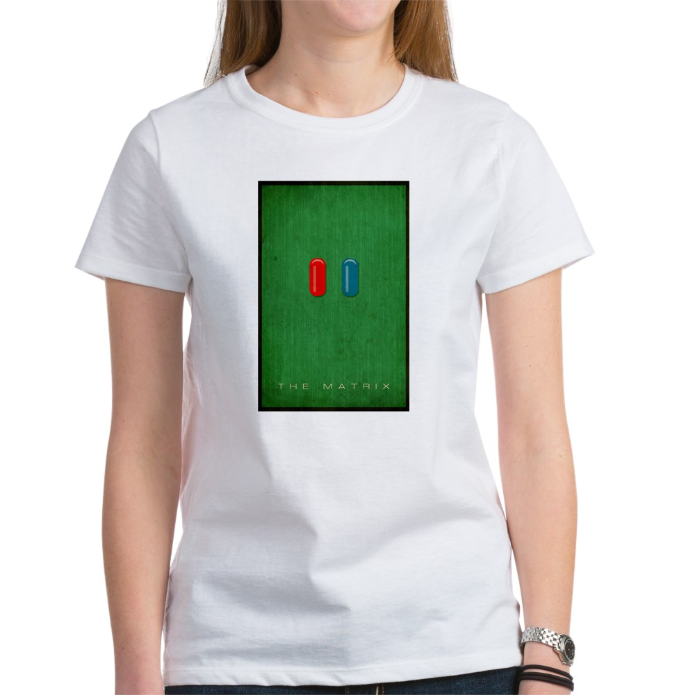 Minimalist The Matrix Poster Women's T-Shirt