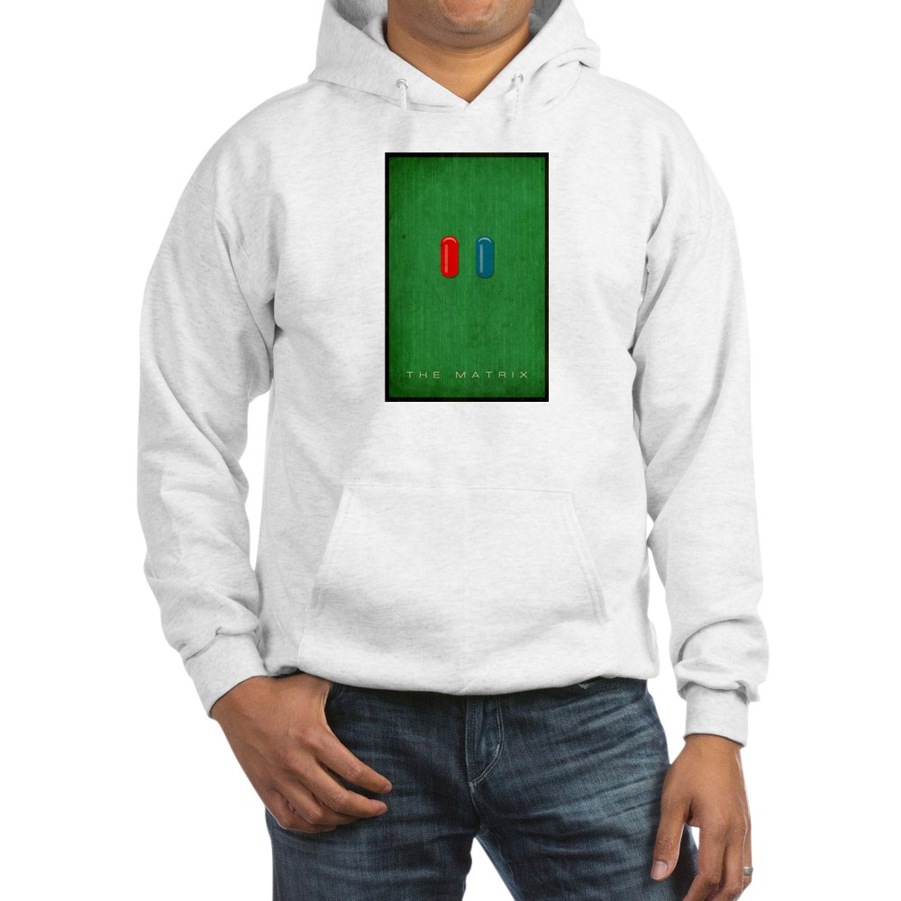 Minimalist The Matrix Poster Hooded Sweatshirt