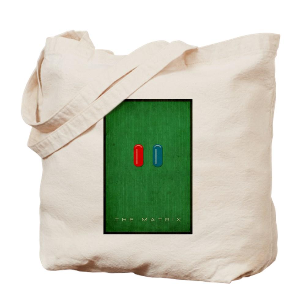 Minimalist The Matrix Poster Tote Bag