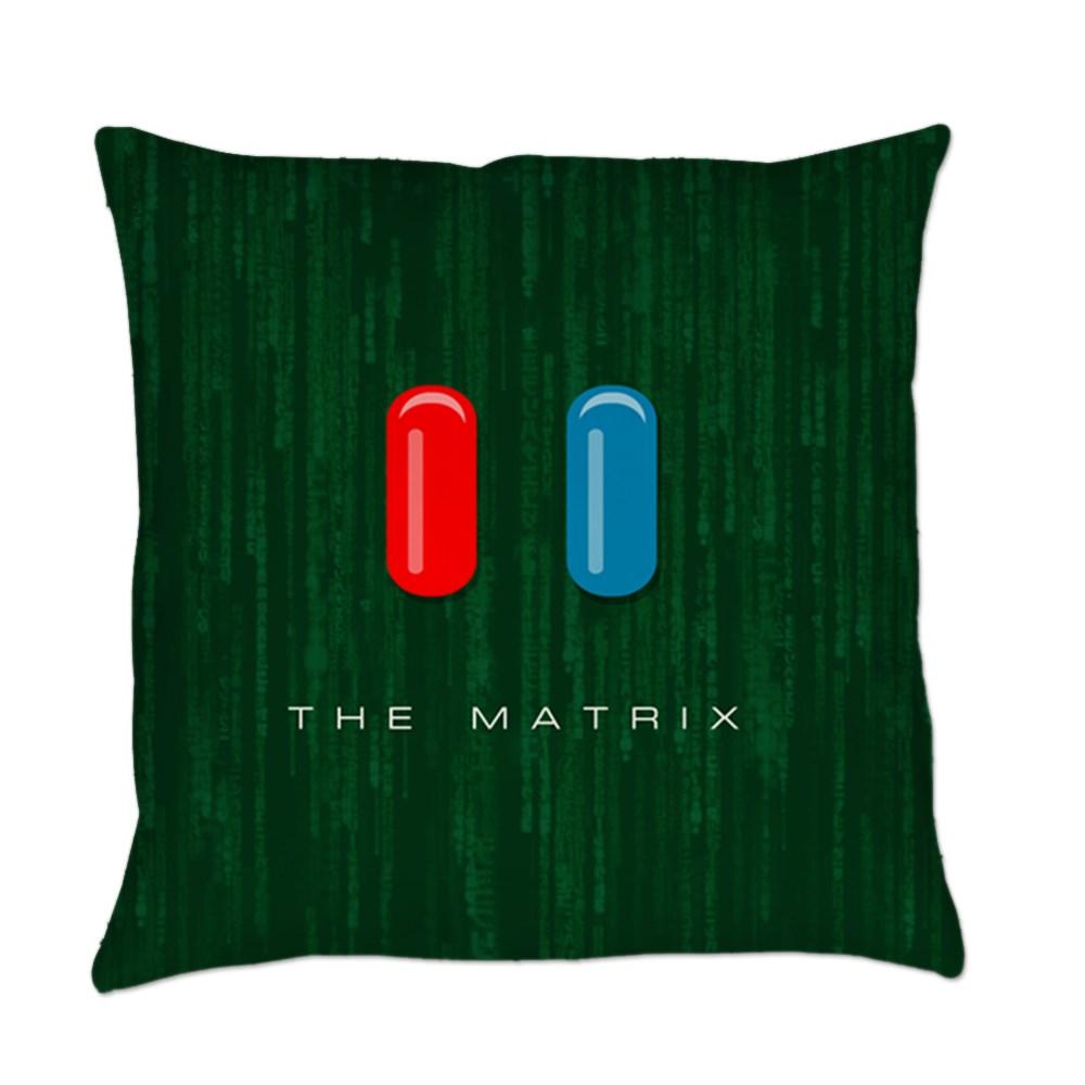 Red Pill, Blue Pill Everyday Pillow