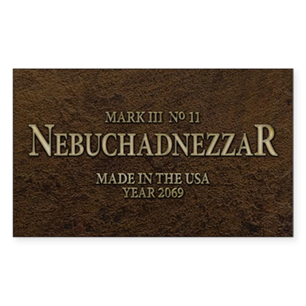 Nebuchadnezzar Rectangle Sticker