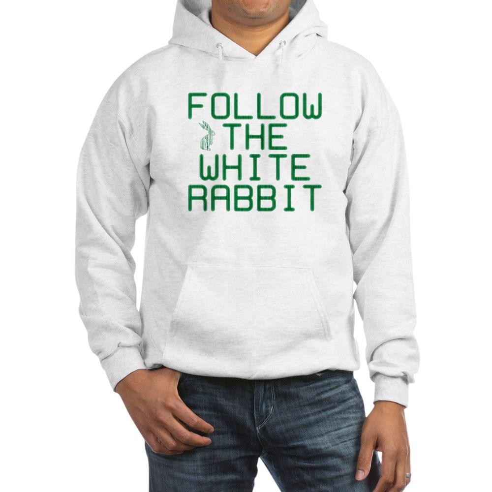 Follow the White Rabbit Hooded Sweatshirt