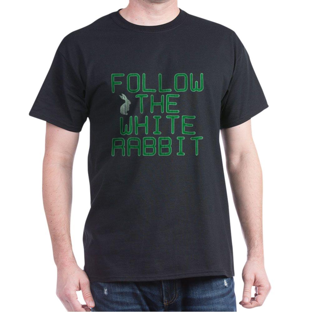 Follow the White Rabbit Dark T-Shirt