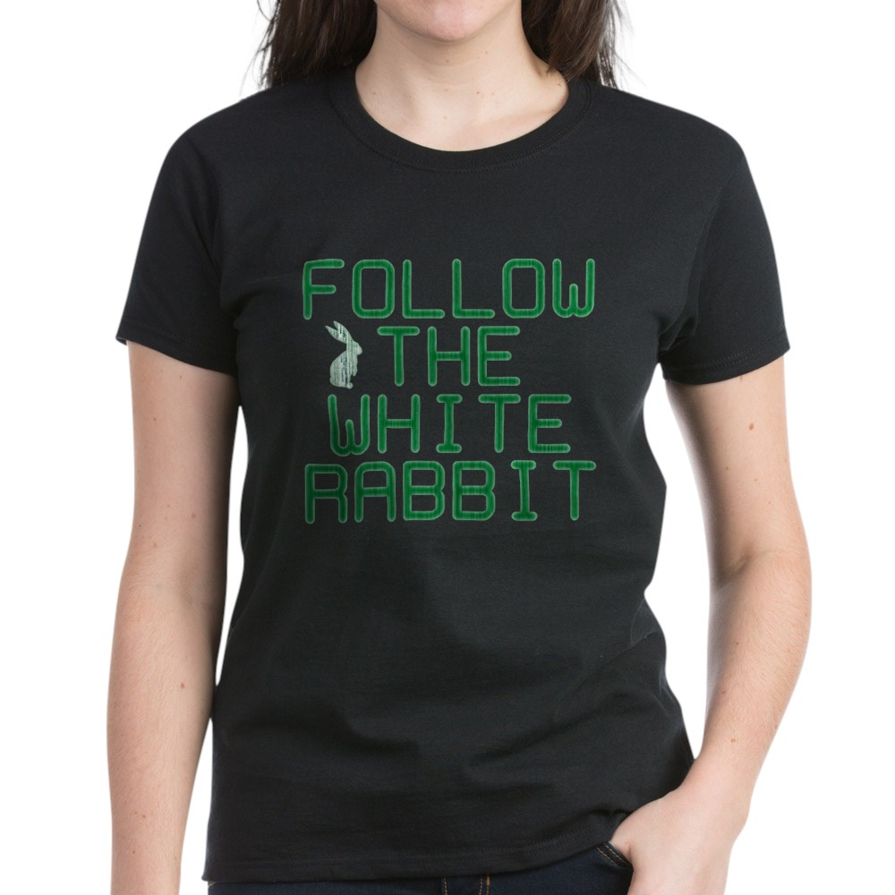 Follow the White Rabbit Women's Dark T-Shirt