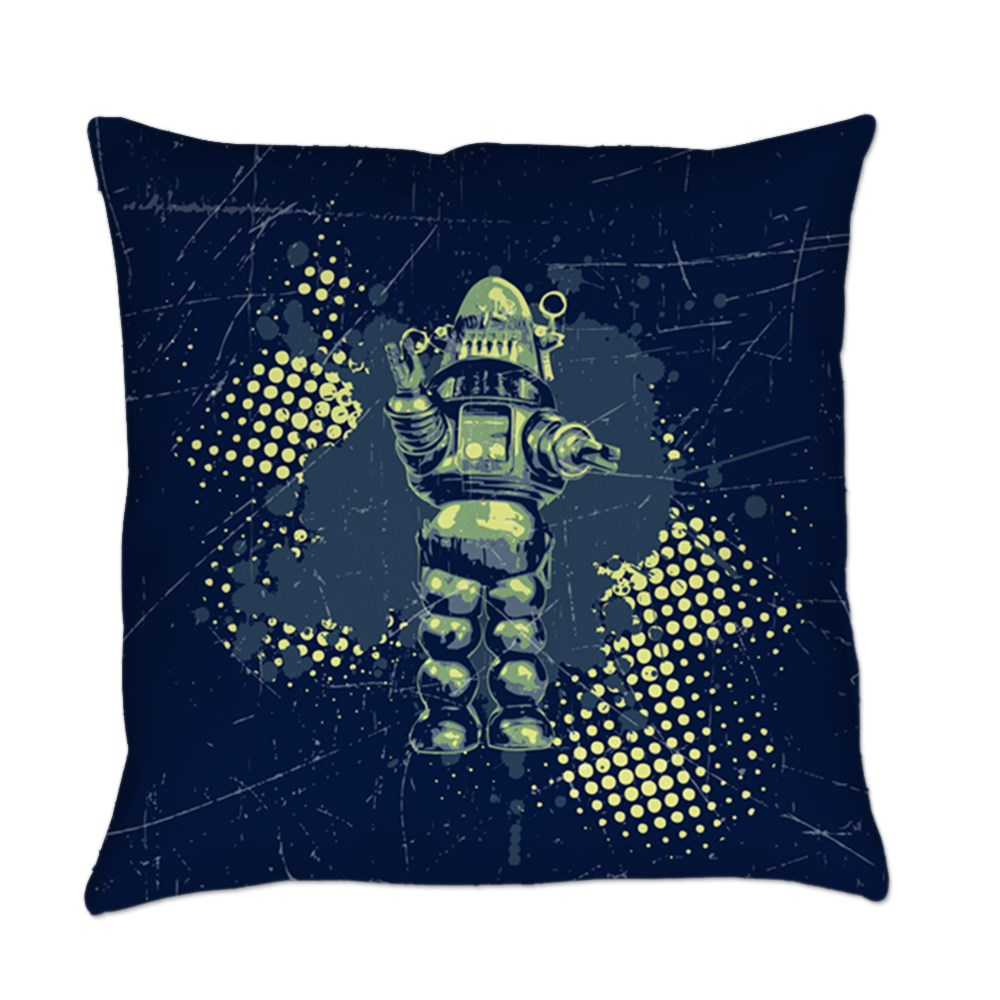 Robby the Robot Everyday Pillow