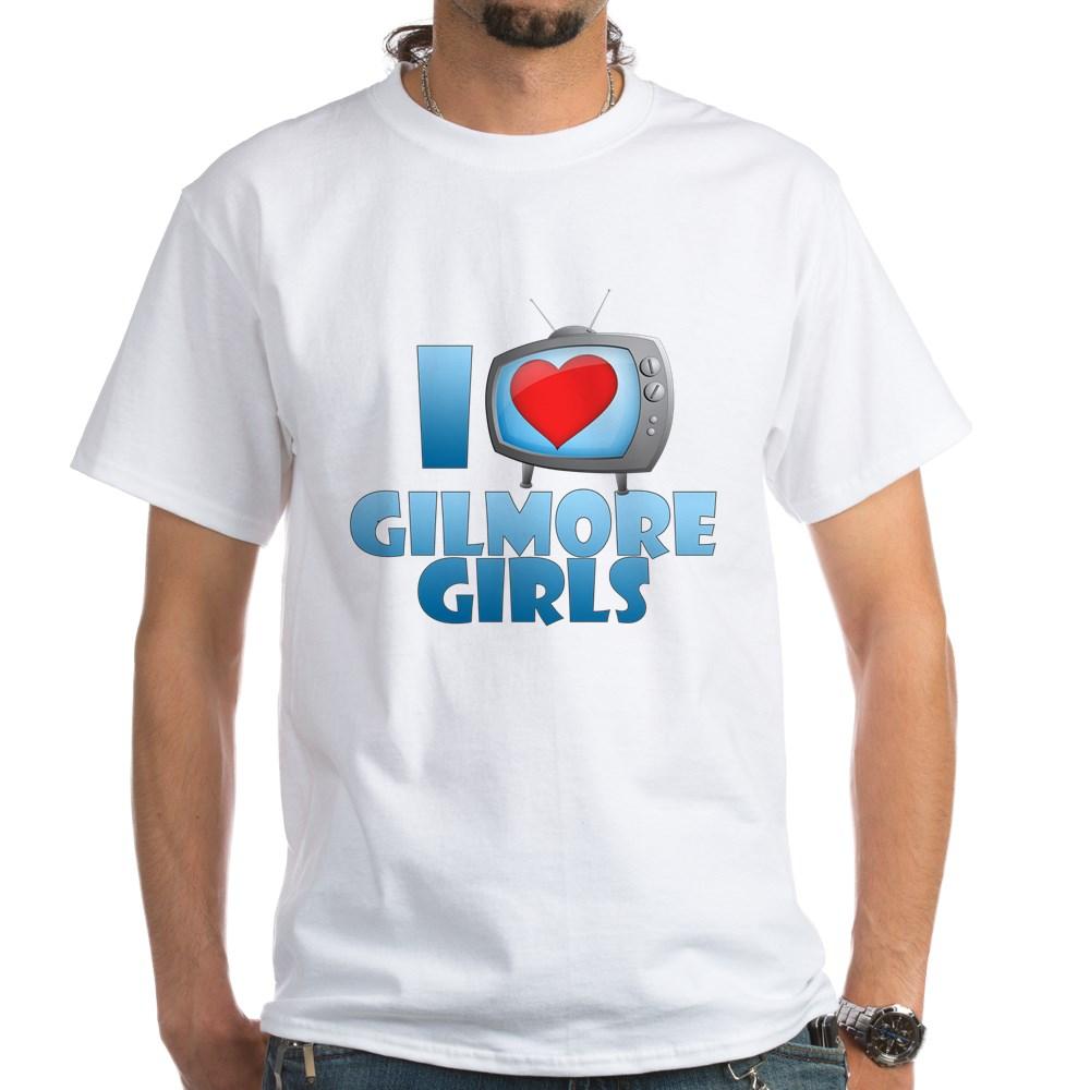 I Heart Gilmore Girls White T-Shirt
