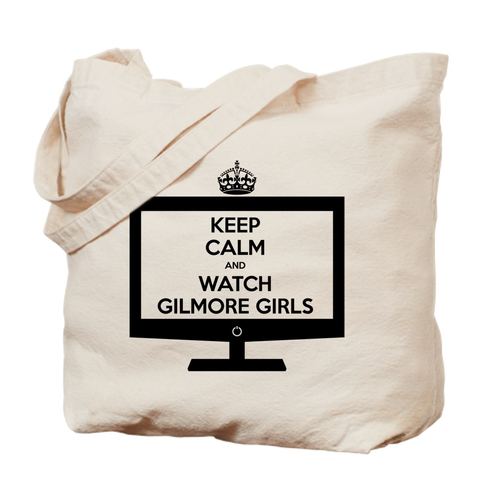 Keep Calm and Watch Gilmore Girls Tote Bag