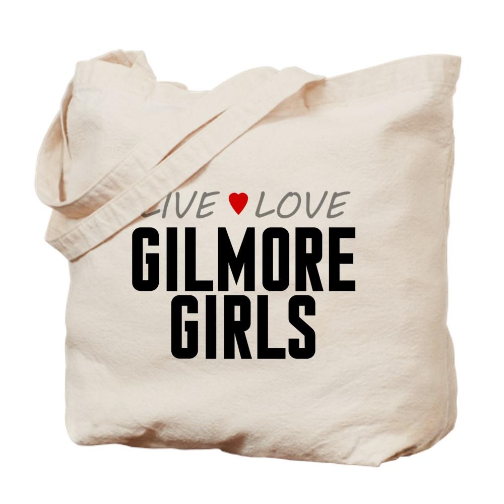 Live Love Gilmore Girls Tote Bag