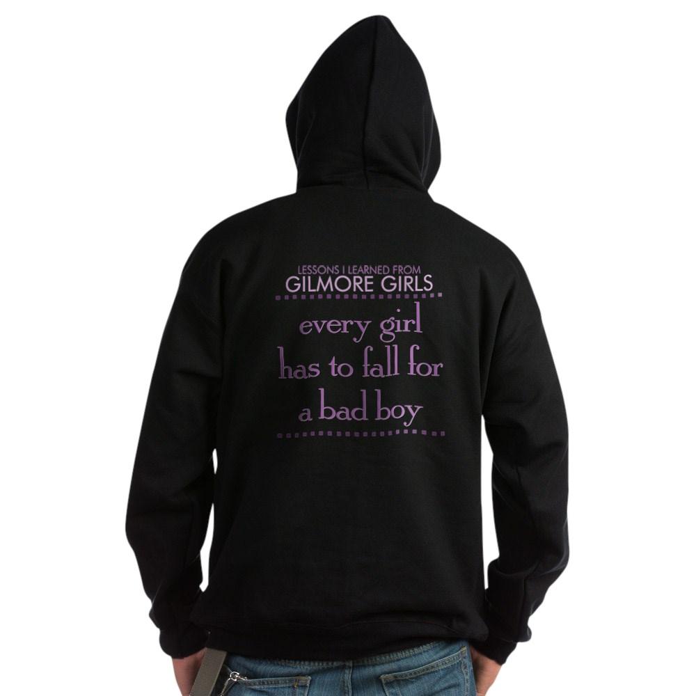 Fall for a Bad Boy Dark Hoodie