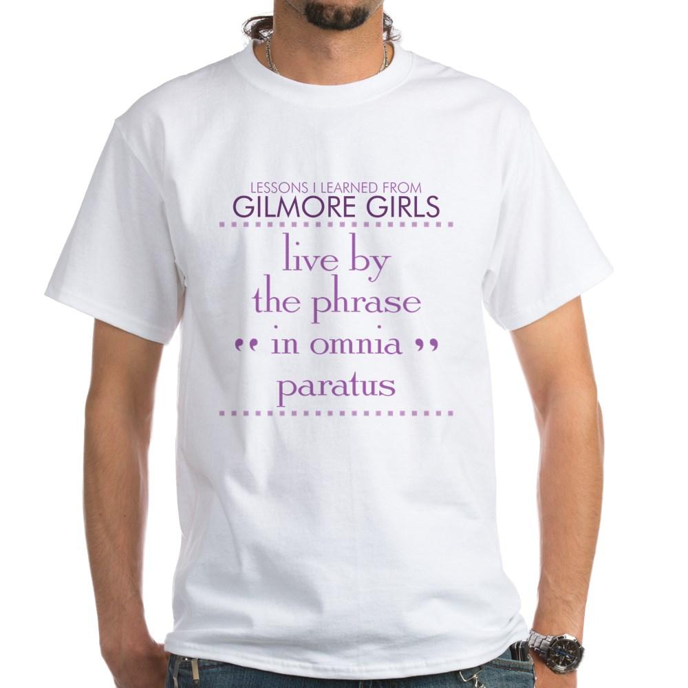 In Omnia Paratus White T-Shirt