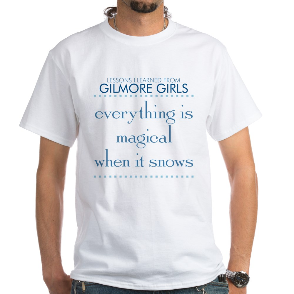 Magical When It Snows White T-Shirt
