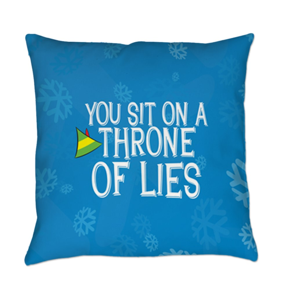 You Sit on a Throne of Lies Everyday Pillow