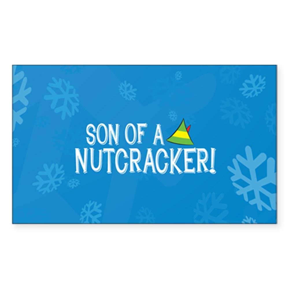 Son of a Nutcracker! Rectangle Sticker