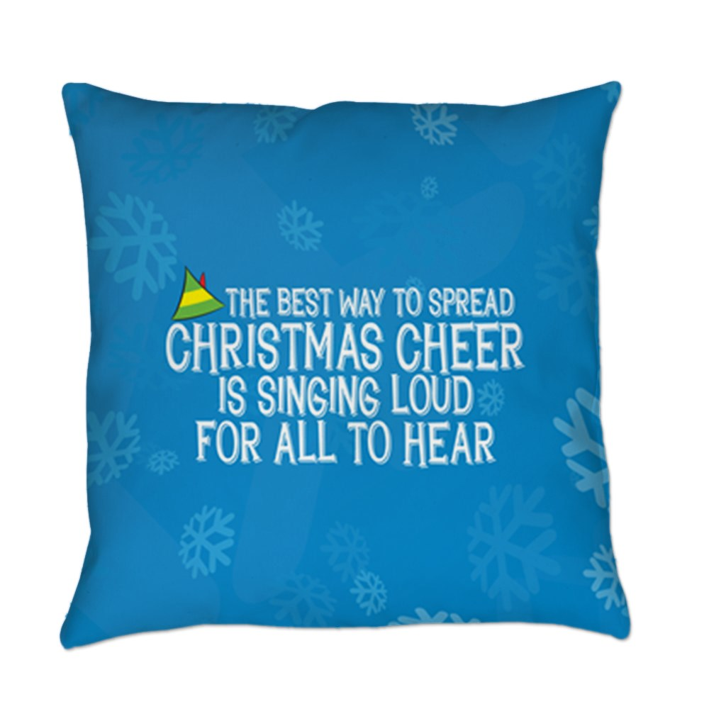 Best Way to Spread Christmas Cheer Everyday Pillow