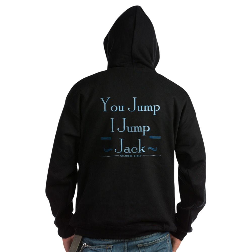 You Jump, I Jump Jack Dark Hoodie