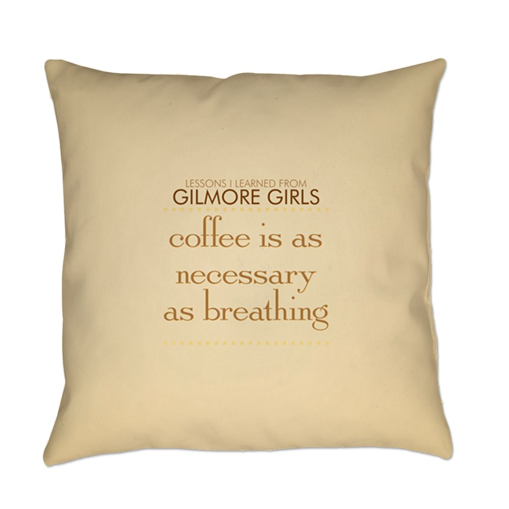 Coffee is Necessary Everyday Pillow