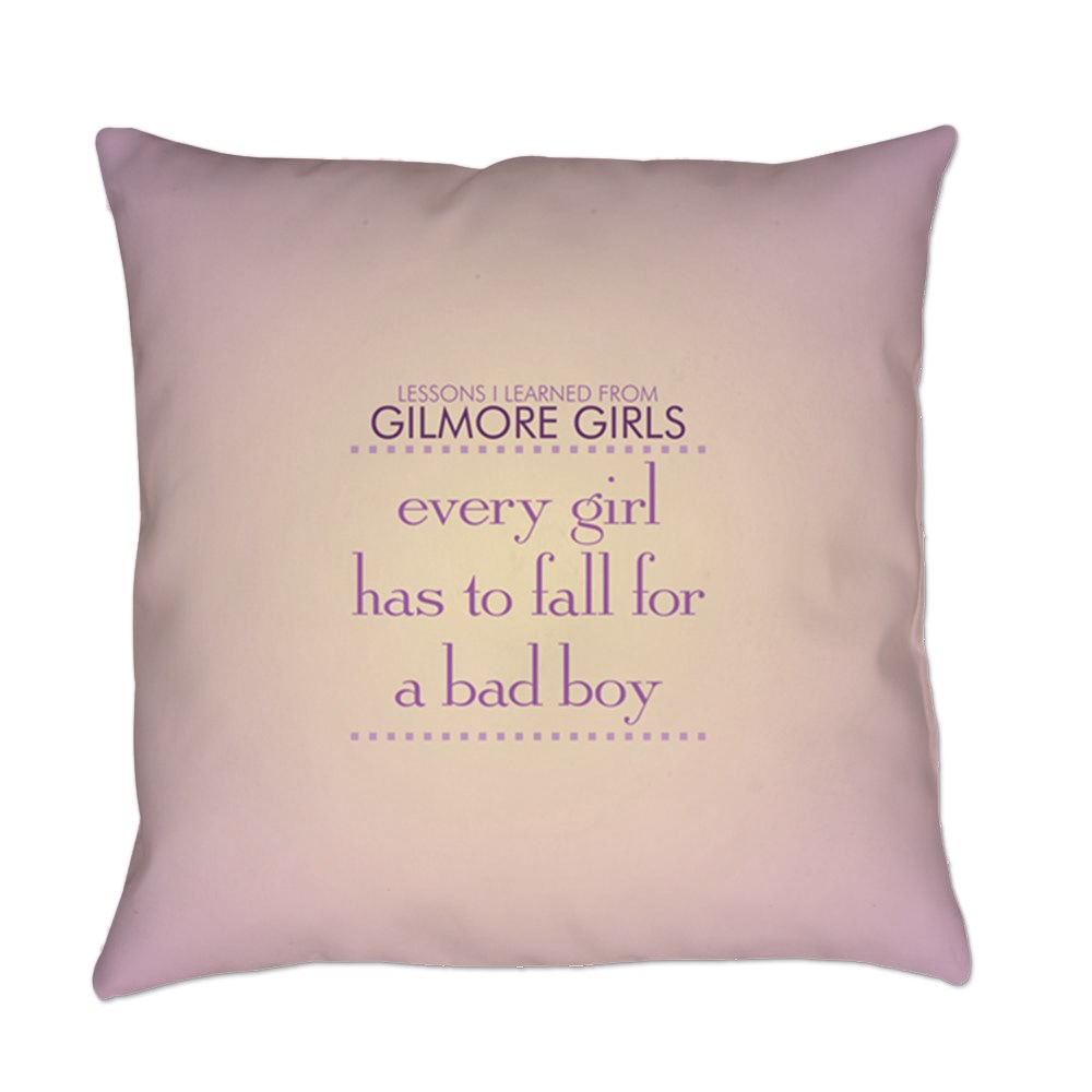 Fall for a Bad Boy Everyday Pillow