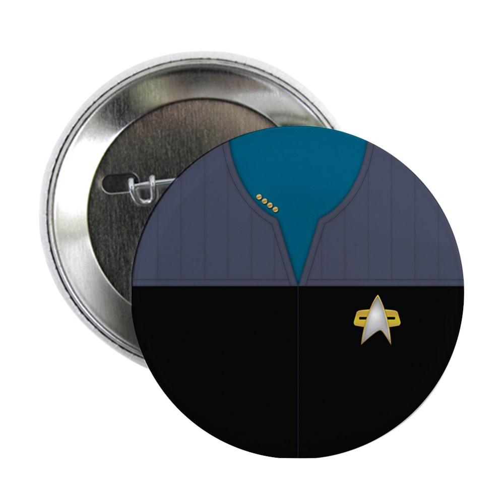 DS9 Starfleet Uniform: Science/Medical - Captain 2.25