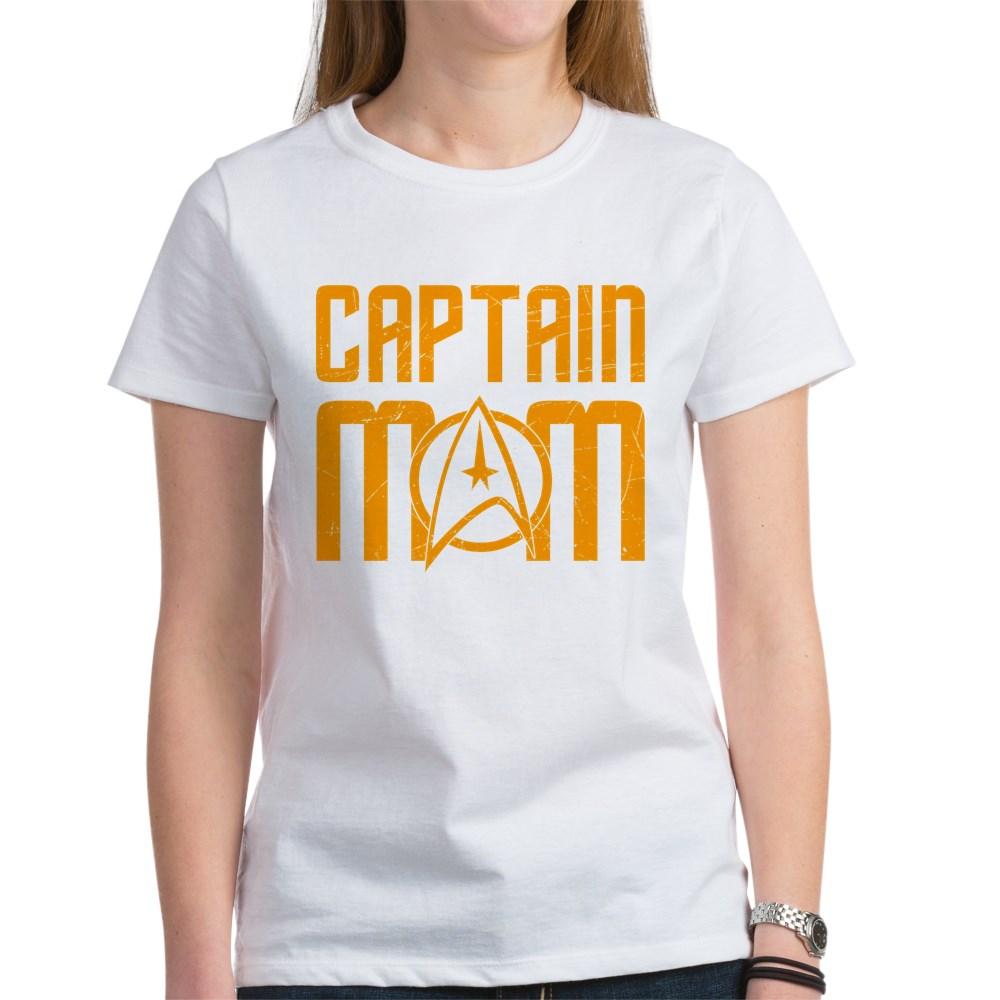 Captain Mom Women's T-Shirt