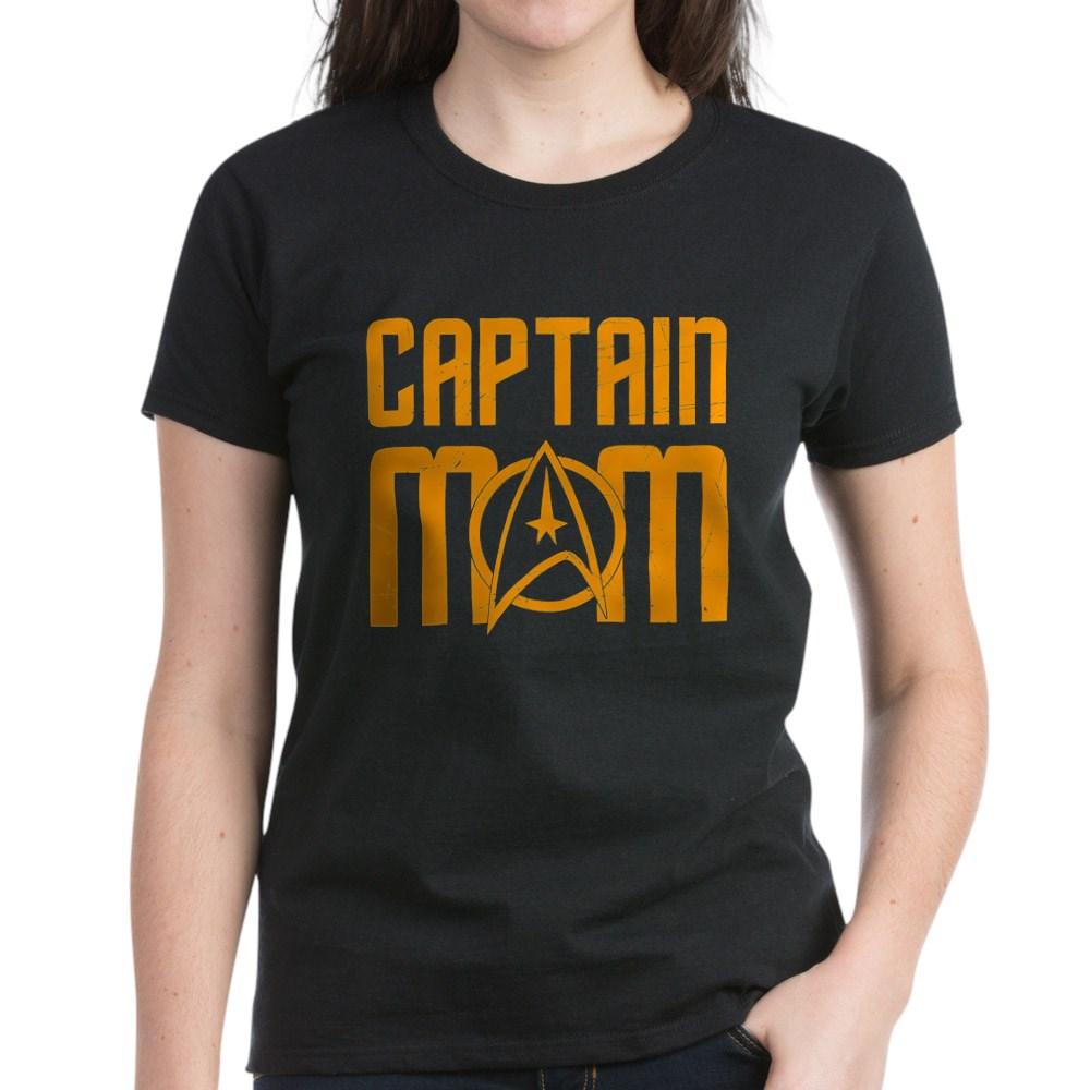 Captain Mom Women's Dark T-Shirt