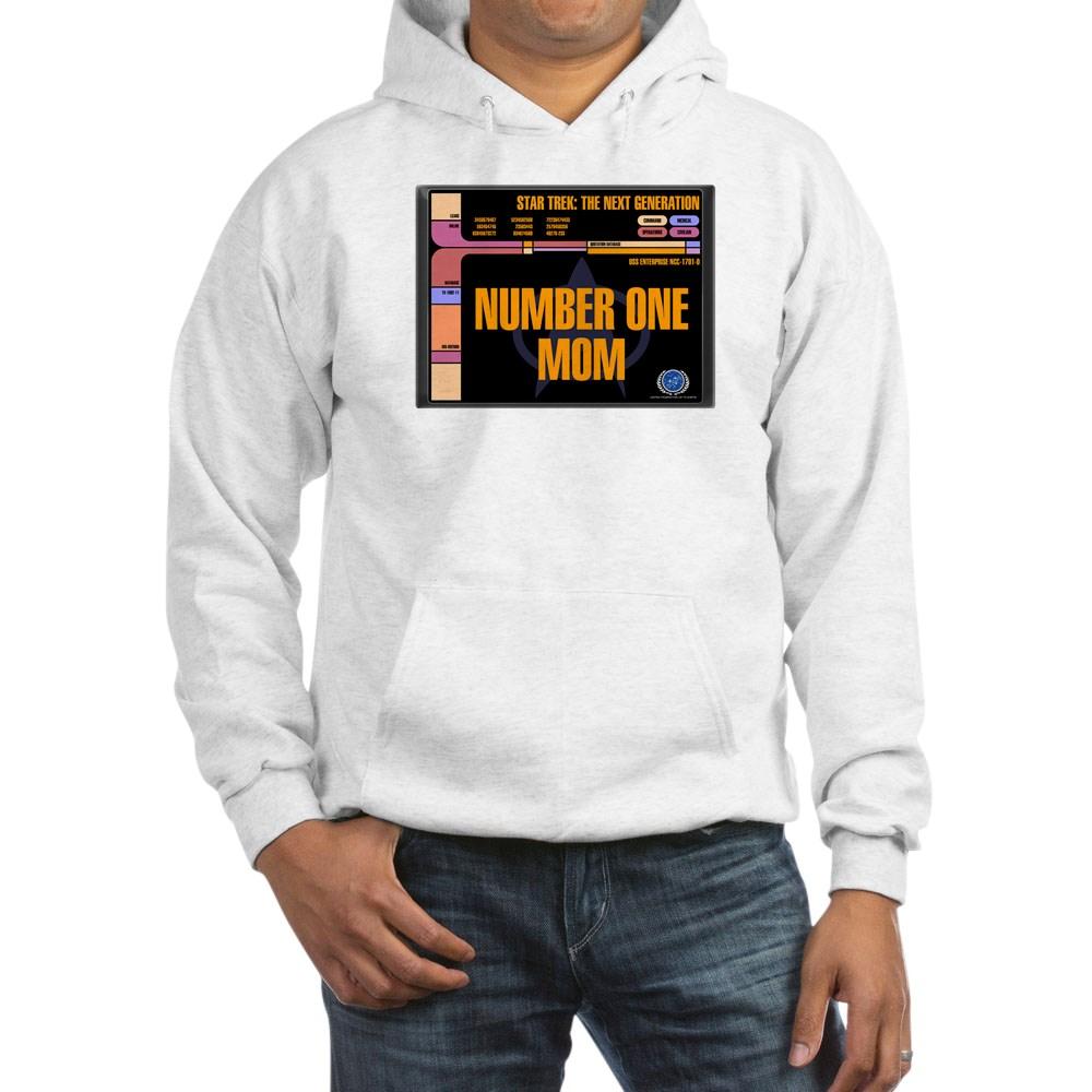 Number One Mom Hooded Sweatshirt