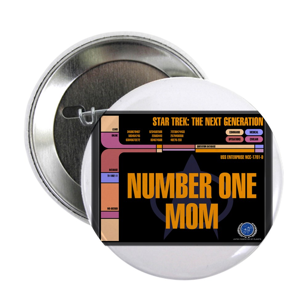 Number One Mom 2.25