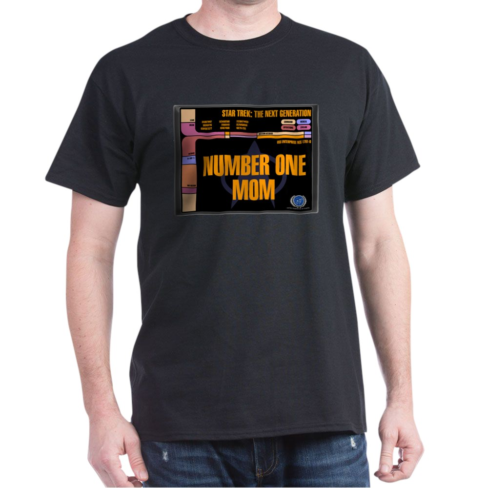 Number One Mom Dark T-Shirt