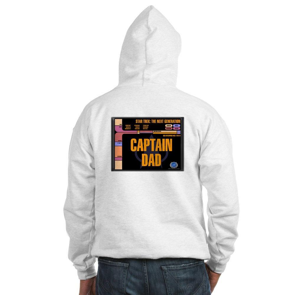 Captain Dad Hooded Sweatshirt