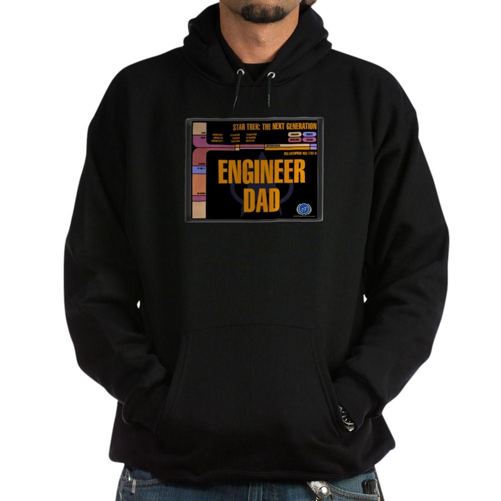 Engineer Dad Dark Hoodie